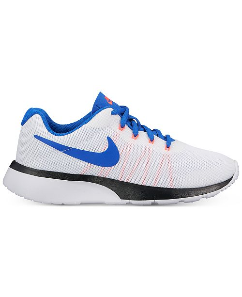 2ad0d9d20ca ... Nike Big Boys  Tanjun Racer Casual Sneakers from Finish Line ...