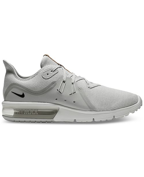 on sale e5bb5 68938 ... Nike Men s Air Max Sequent 3 Running Sneakers from Finish ...