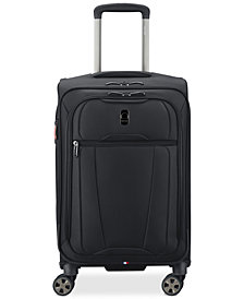 "CLOSEOUT! Delsey Helium 360 21"" Expandable Spinner Carry-On Suitcase, Created for Macy's"