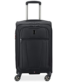 "Delsey Helium 360 21"" Expandable Spinner Carry-On Suitcase, Created for Macy's"