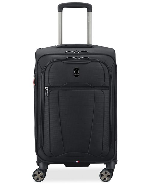 "Delsey CLOSEOUT! Helium 360 21"" Expandable Spinner Carry-On Suitcase, Created for Macy's"