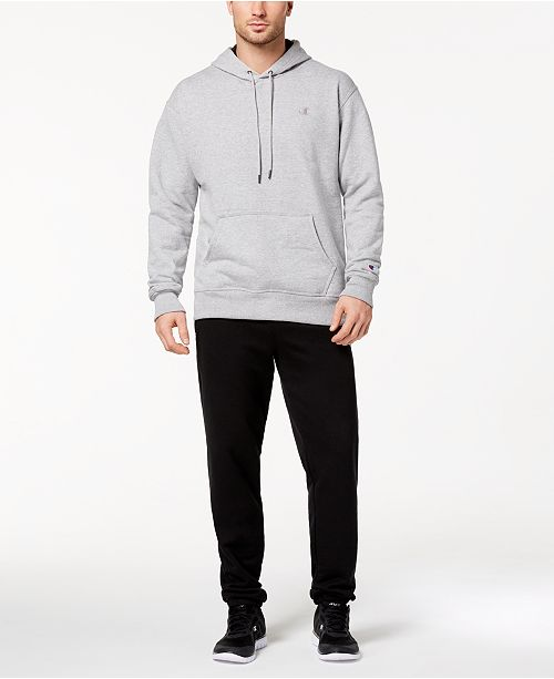 4e43c5839cce Champion Men s Powerblend Fleece Hoodie   Joggers   Reviews - Men s ...