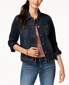 Style & Co. Denim Jacket, Created for Macy's