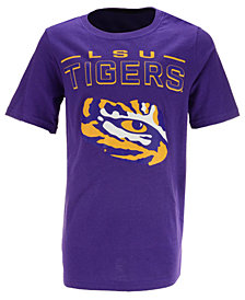Outerstuff LSU Tigers Straight Pass T-Shirt, Big Boys (8-20)