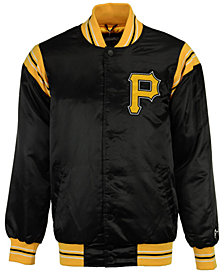 Starter Men's Pittsburgh Pirates Legacy Satin Jacket