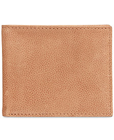 Tasso Elba Men's Garnet Slim Billfold Wallet, Created for Macy's