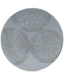 Mikasa Daniela White Round Platter