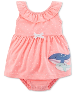 Carter's Whale Sunsuit,...