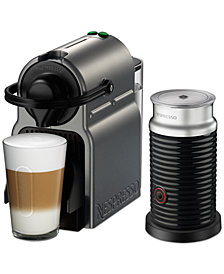 Nespresso by Breville Inissia Titan Espresso Machine with Aeroccino3