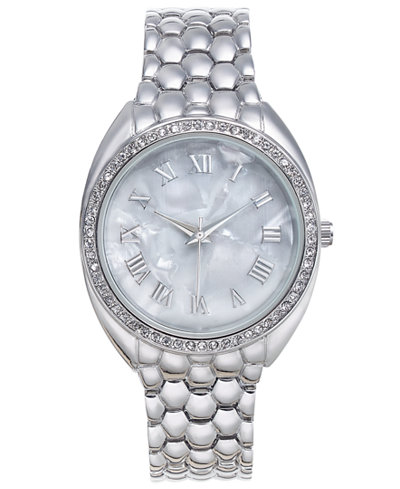 Charter Club Silver-Tone Women's Bracelet Watch 35mm, Created for Macy's