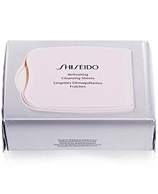 Shiseido Gentle Refreshing Cleansing Sheets, 30-Pk.