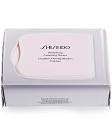 Shiseido Gentle Refreshing Cleansing Sheets, 30-Pk.