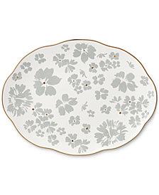 Lenox Scattered Petals Oval Platter