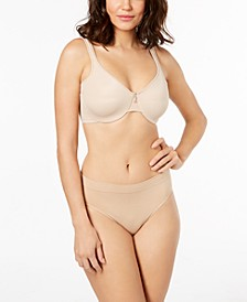 One Smooth U Full-Coverage Bra & High-Cut Brief