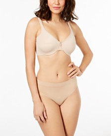 Bali One Smooth U Full-Coverage Bra & High-Cut Brief