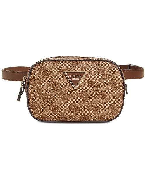 b22f6814c922 GUESS Varsity Pop Signature Belt Bag   Reviews - Handbags ...