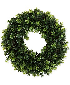 "Pure Garden Faux Boxwood 12"" Wreath"