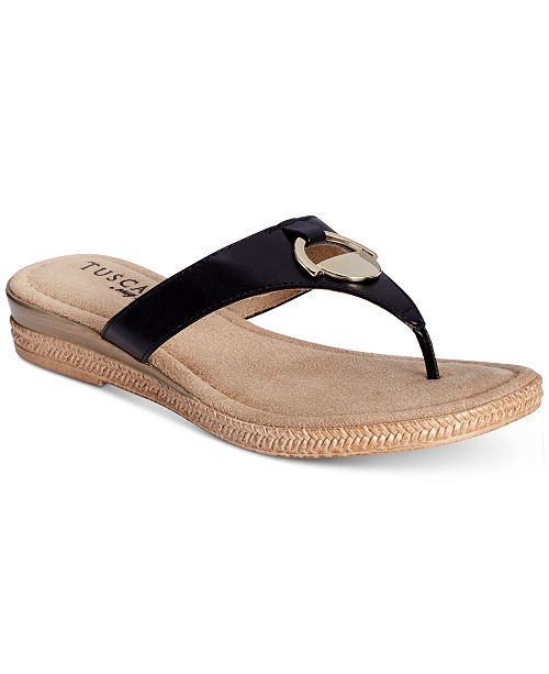 832d2e881 Easy Street Tuscany by Belinda Thong Sandals   Reviews - Sandals ...