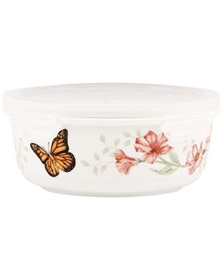 Lenox Serveware, Butterfly Meadow Serving and Storage Bowl with Lid