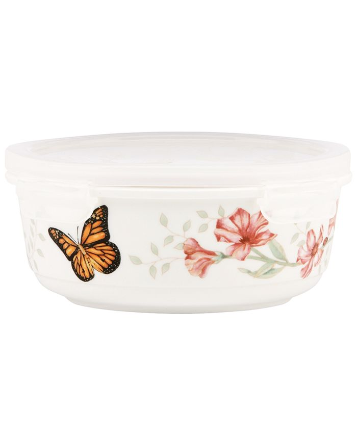 Lenox - Butterfly Meadow Serving and Storage Bowl with Lid