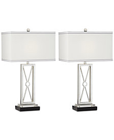 Pacific Coast Set of 2 Reflections Table Lamp