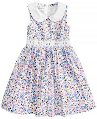 Smocked Little Dresses for Girls