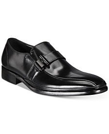 Kenneth Cole Reaction Men's Zap Strap Bike-Toe Loafers