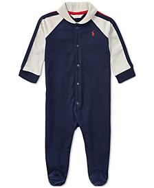 Ralph Lauren Baby Boys Shawl-Collar Coverall