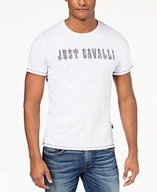 Just Cavalli Men's Graphic-Print T-Shirt