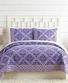 Purple Passion Twin Quilt
