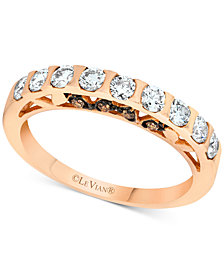 Le Vian® Diamond Band (5/8 ct. t.w.) in 14k Rose Gold