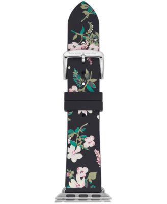 Multicolored Floral Silicone Apple Watch® Strap