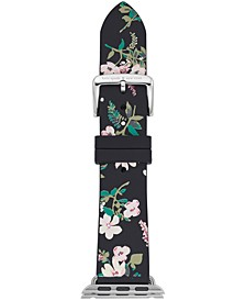 Women's Multicolored Floral Silicone Apple Watch® Strap