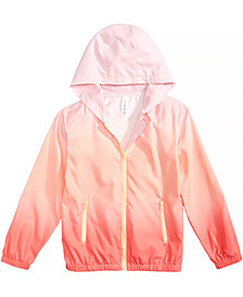Ideology Ombré Hooded Jacket, Big Girls, Created for Macy's