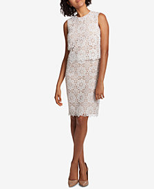 Tommy Hilfiger Lace Popover Dress