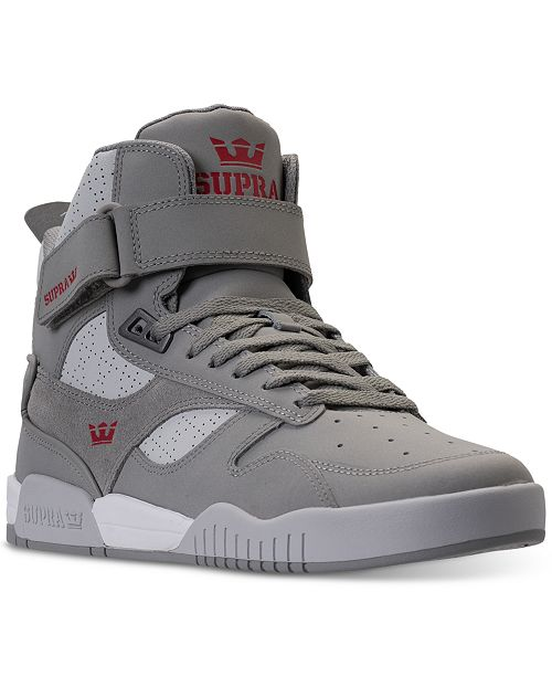 68647d703483 SUPRA Men s Bleeker High Top Casual Sneakers from Finish Line ...