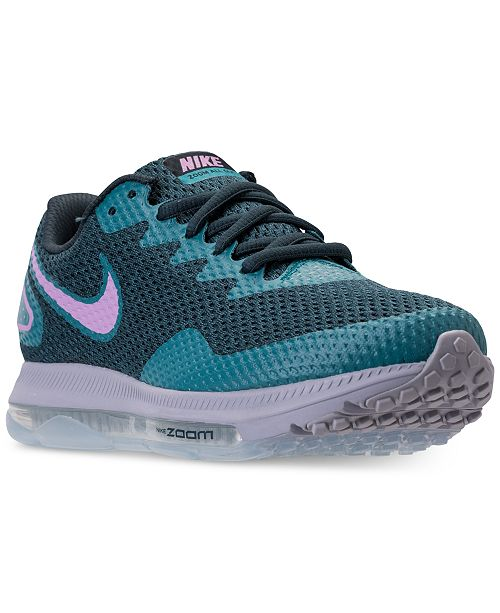new styles 73b7e 7587f ... Nike Women s Zoom All Out Low 2 Running Sneakers from Finish ...