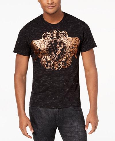 Versace Men's Foil-Print T-Shirt