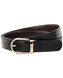 Montblanc Men's Reversible Leather Belt