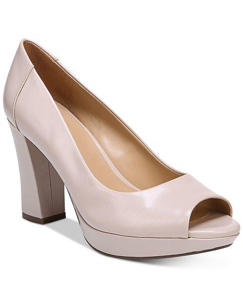 ecc5e6ab18 Naturalizer Amie Peep-Toe Pumps & Reviews - Pumps - Shoes - Macy's