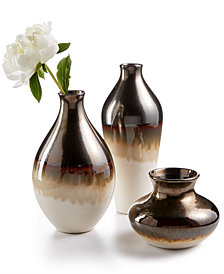 Lenox Metallic Fusion Vase Collection
