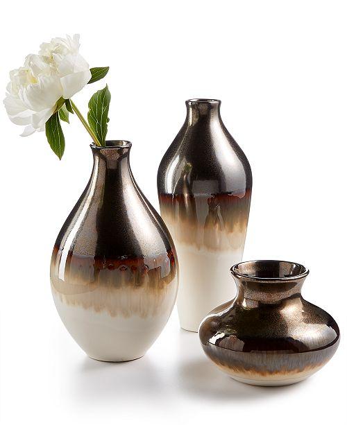 Lenox Metallic Fusion Vase Collection Macys