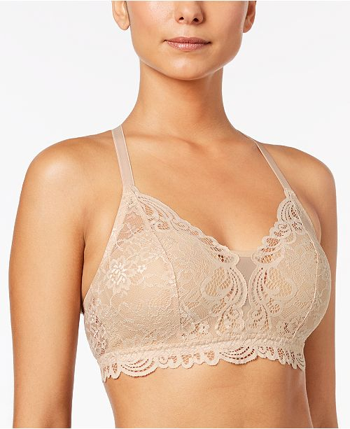 Bali Comfort Revolution Lace Desire Shaping Wireless Bra DF6591