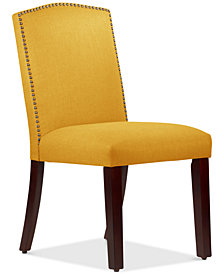 Callon Linen Dining Chair, Quick Ship