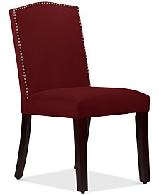 Callon Velvet Nail Button Dining Chair
