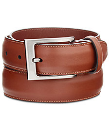 Perry Ellis Portfolio Men's Full-Grain Leather Belt