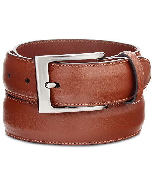 82f01f9e493 Perry Ellis Portfolio Men's Full-Grain Leather Belt & Reviews - All ...