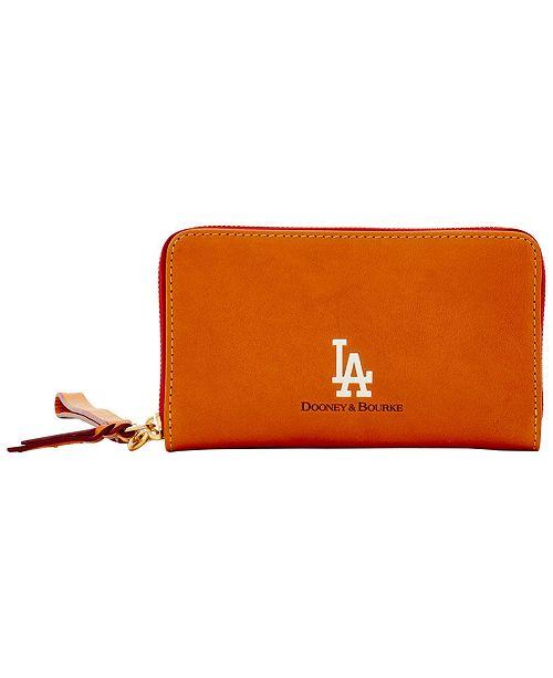 Dooney & Bourke Los Angeles Dodgers Florentine Zip Around Wallet