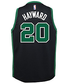 Nike Gordon Hayward Boston Celtics Statement Swingman Jersey, Big Boys (8-20)