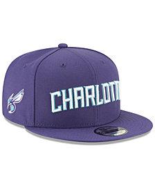 New Era Charlotte Hornets Statement Jersey Hook 9FIFTY Snapback Cap